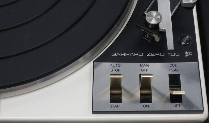 Garrard Zero 100 Detail