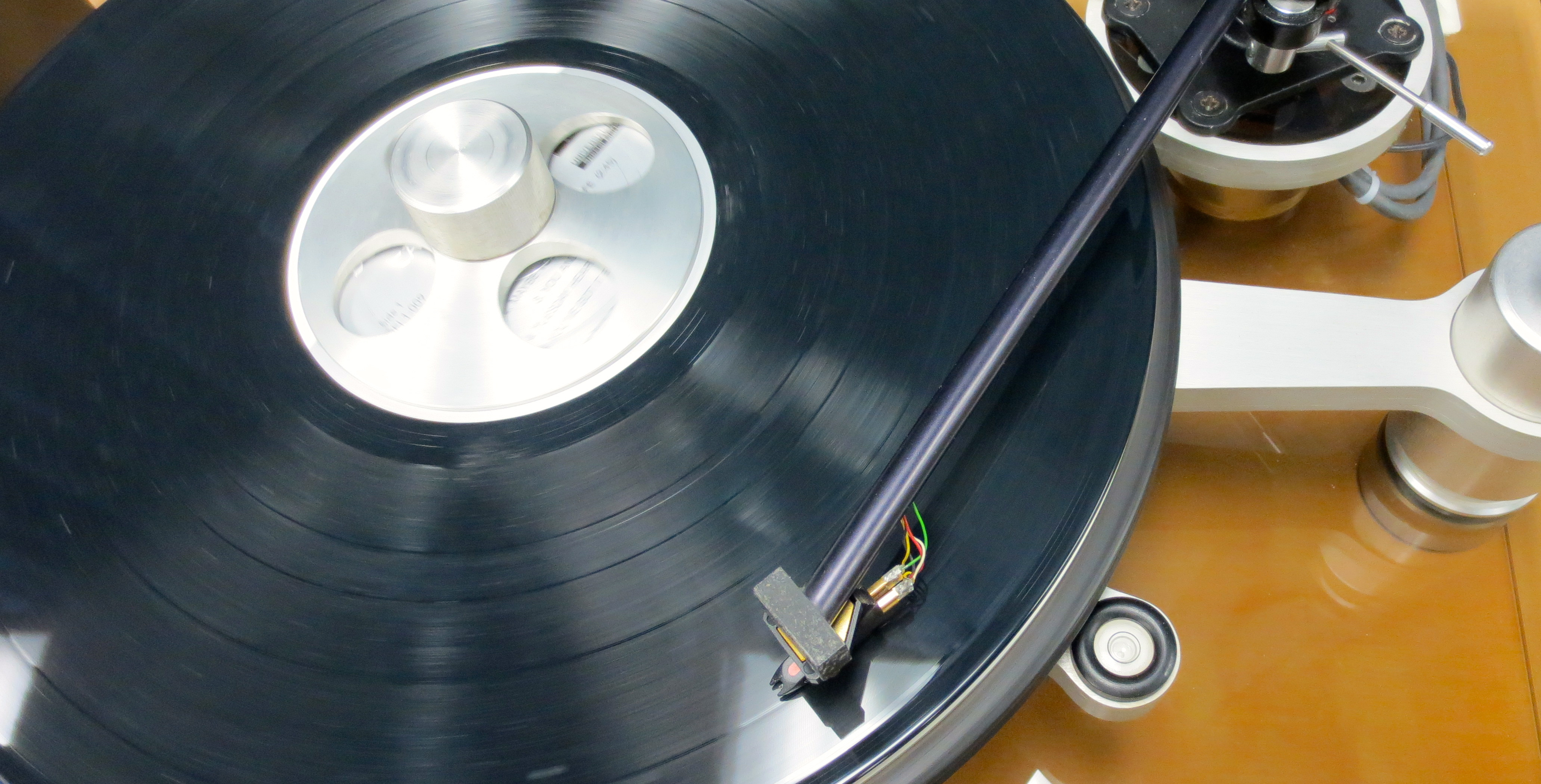 turntable hear the music